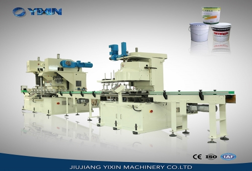 Nigeria10-25L Auto conical pail production line