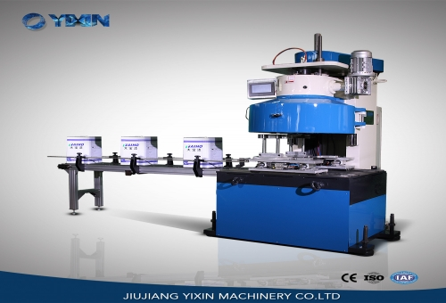 GT4B188 Automatic square can sealing machine with eight rollers