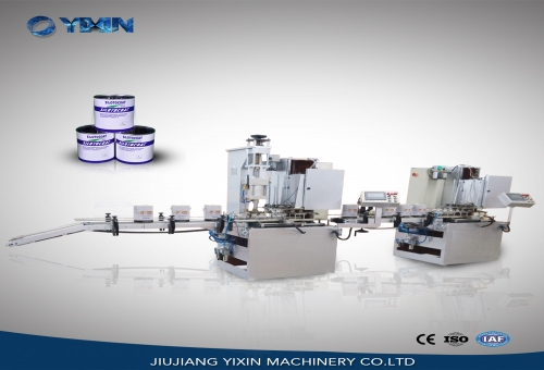 1-5L Auto  Round Can Production Line