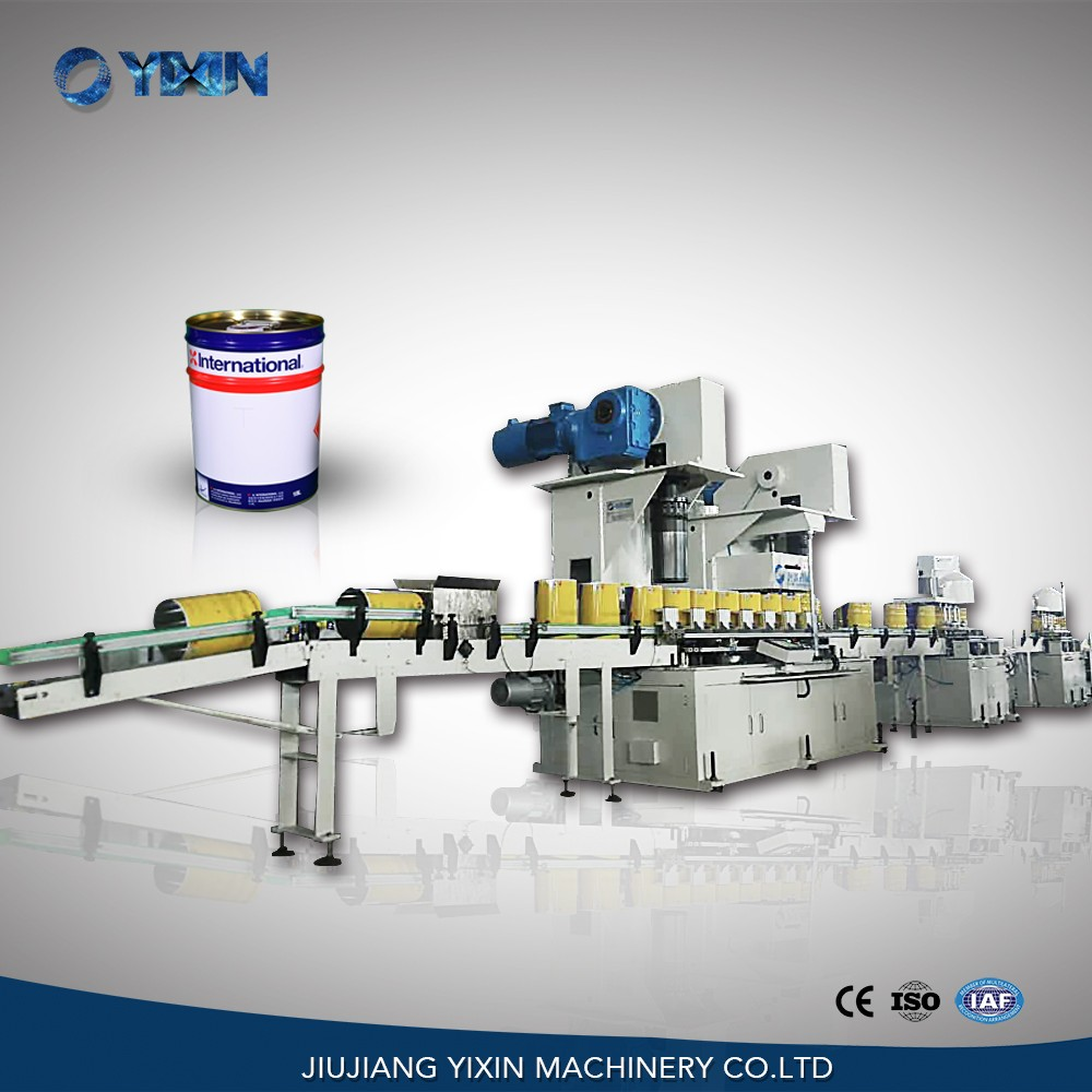 automatic tin can making machine