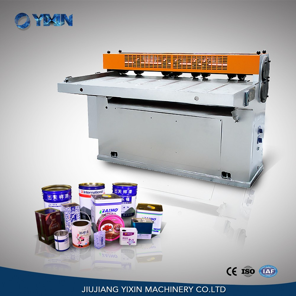 Semi-automatic  can making machine