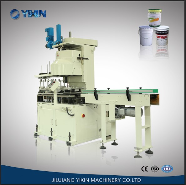 automatic rectangular  can  machine