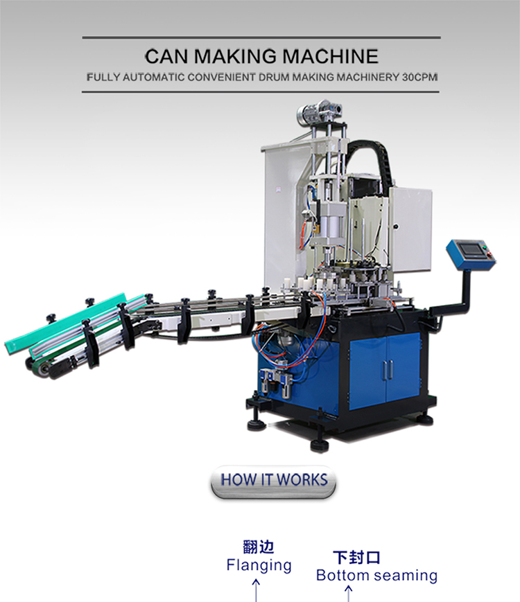 can making machine production line